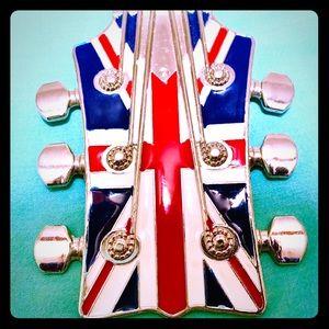 Guitar Belt Buckle nwot